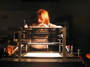 tournage AWA - studio de Folimage